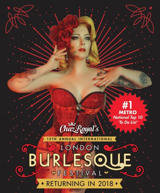 London Burlesque Festival | Naughty Travel Guide